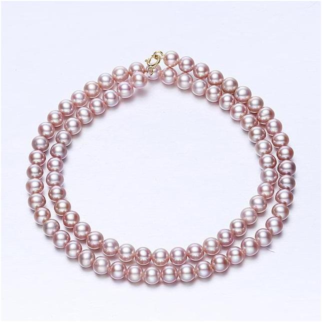 手工珍珠项链如此好看,每一款都让女性深爱